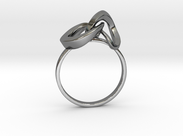 Infinite Ring in Smooth Fine Detail Plastic