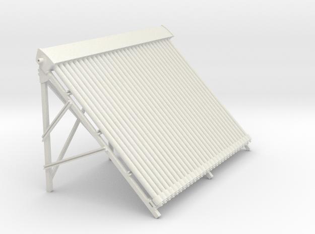 Solar Module 30 pipes in White Natural Versatile Plastic