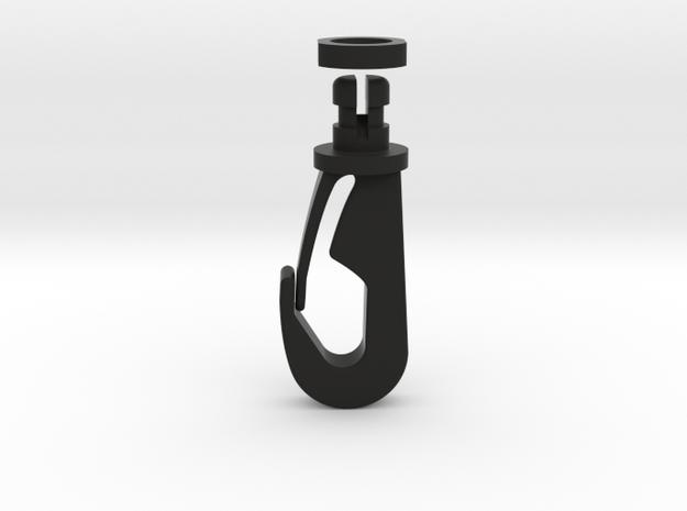 Shoulder Clip Late Bugaboo Cameleon 2's (half Guar in Black Natural Versatile Plastic