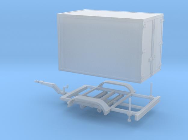 Kofferanhänger für Busse/SEG in Smooth Fine Detail Plastic