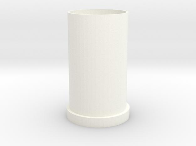 .32 S&W Short Casing in White Processed Versatile Plastic
