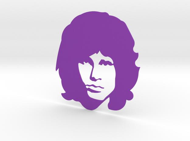 Jim Morrison in Purple Processed Versatile Plastic