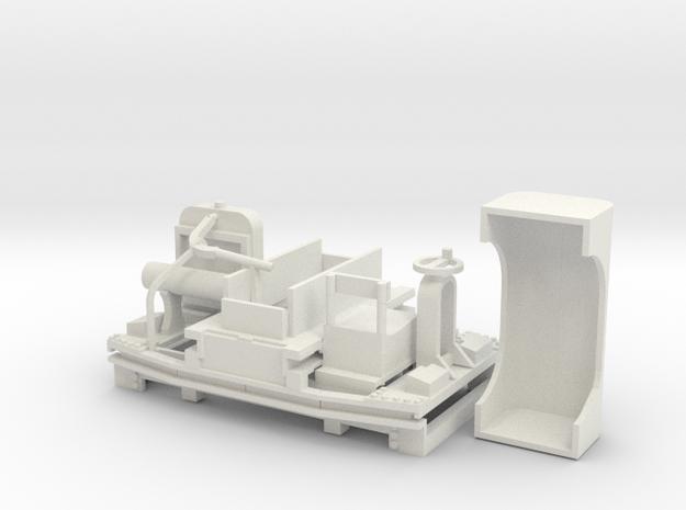 B-1-27-5-simplex-20hp in White Natural Versatile Plastic