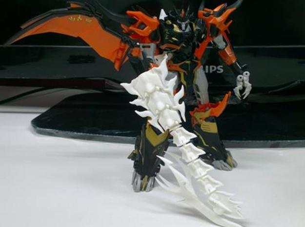 TFP Voyager Beast king Tail-Shield  3d printed Combined with sword(available serparately)