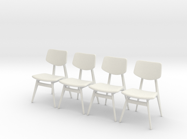 1:24 C 275 Chair Set of 4