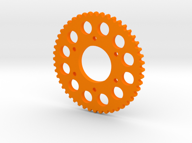 Motorcycle Sprocket Pendant or Golf Ball Marker 3d printed
