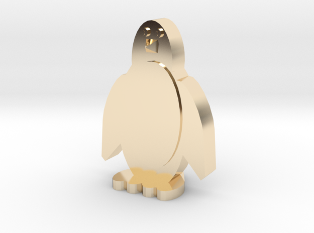 chuby wubby penguin guby in 14K Yellow Gold