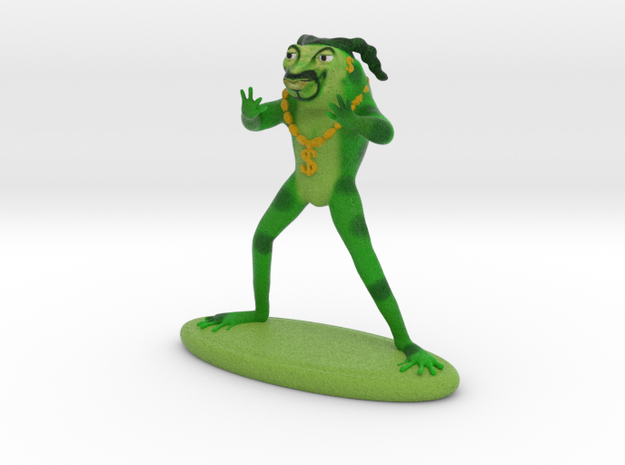 Froggy ShoopD in Full Color Sandstone