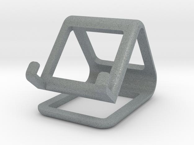Minimalistic Stand in Polished Metallic Plastic