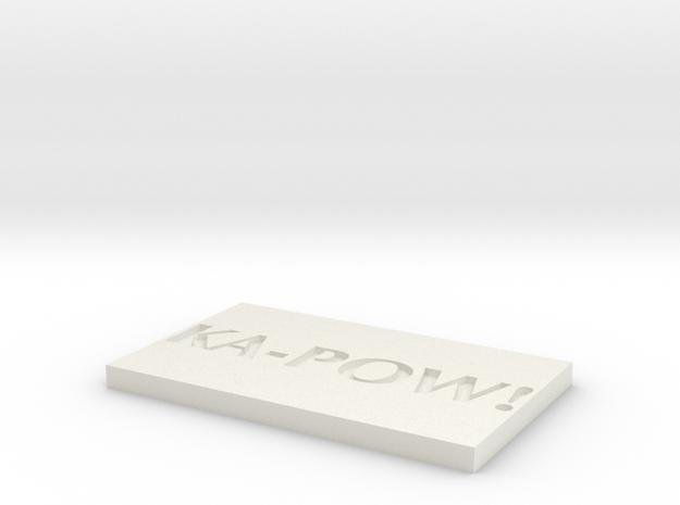 Model-0c961639bb059cb3caaf6320cd38f2d7 in White Natural Versatile Plastic