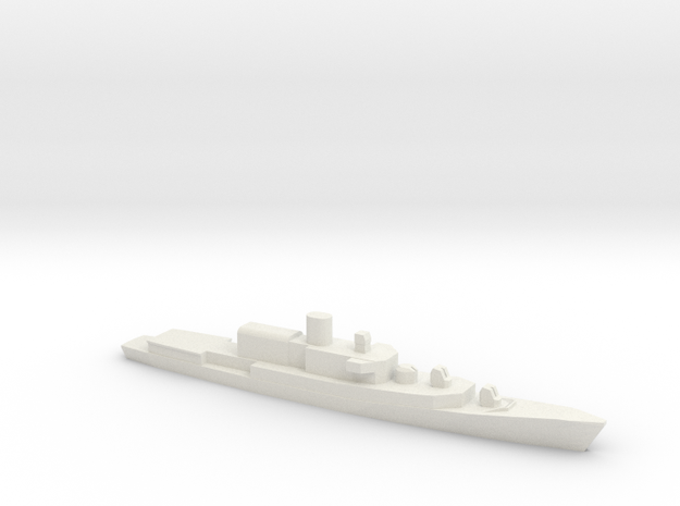 ITS Bergamini-Class Frigate (1961), 1/1800 in White Strong & Flexible