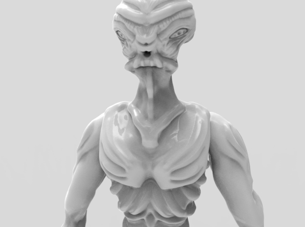 Gryealden The Alien of a Distant Planet in White Strong & Flexible