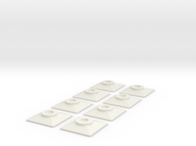 7-8n2 End Sill Washers 3d printed