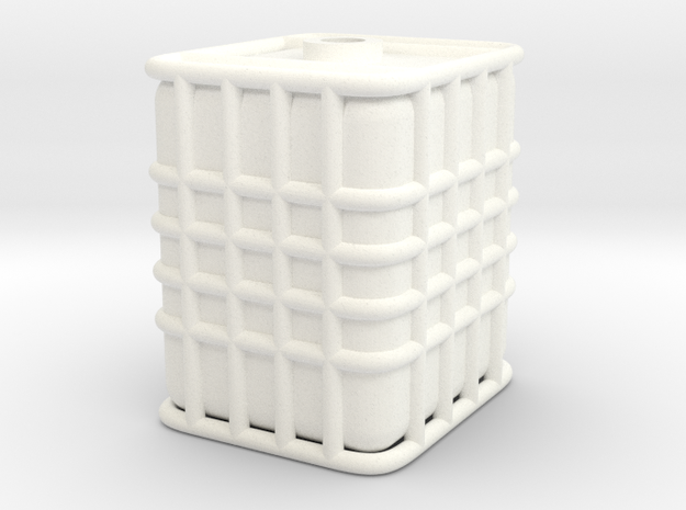 HO ICB tank with out pallet in White Processed Versatile Plastic