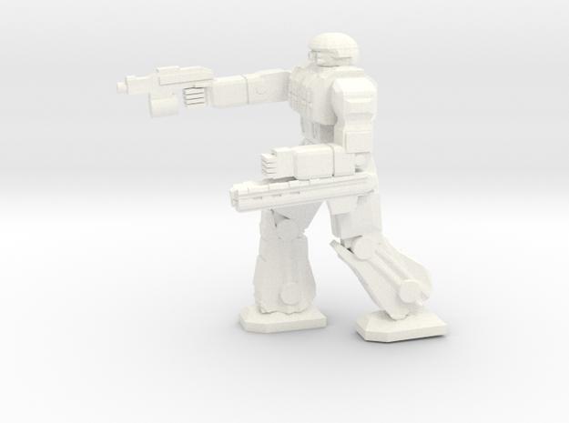 Celt Pose 2 in White Processed Versatile Plastic