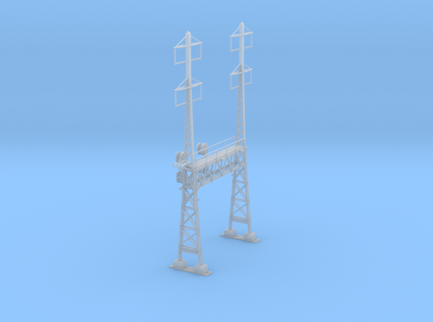 CATENARY PRR LATTICE SIG 2 TRACK 2-2PHASE N SCALE  in Smooth Fine Detail Plastic