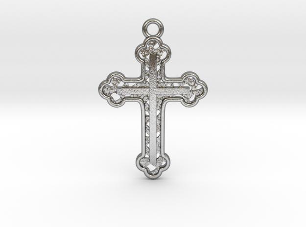 Cross Voronoi in Raw Silver