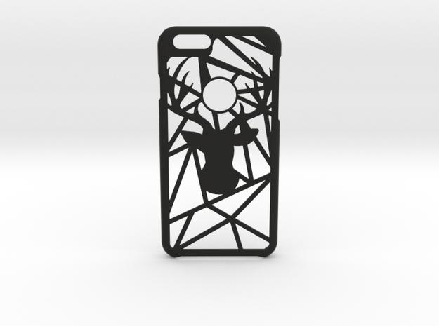 GeoDeer iPhone 6 6s case in Black Natural Versatile Plastic