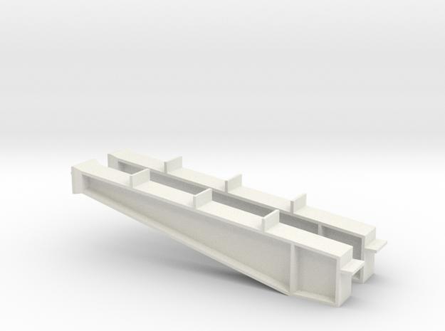 1/64 40' I-beam Cross Span in White Natural Versatile Plastic