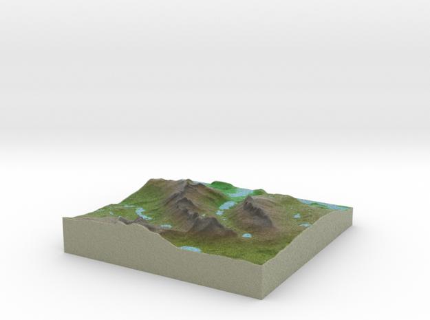 Terrafab generated model Tue Jan 26 2016 11:43:06  in Full Color Sandstone