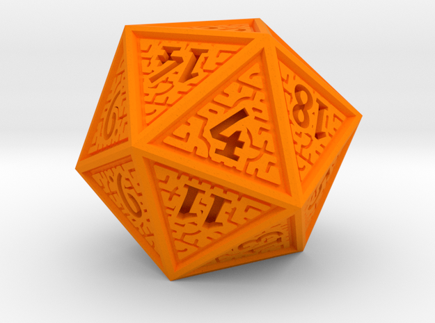 Hedron D20 (Solid), balanced gaming die