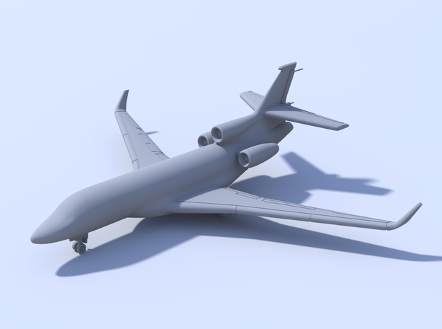 1:400_Falcon 7X [x2][A] in Smooth Fine Detail Plastic
