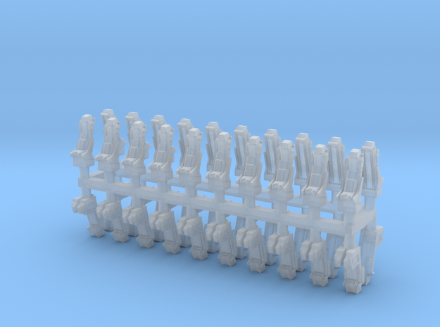 025C Russian and American Seats 1/144 - 20 of each