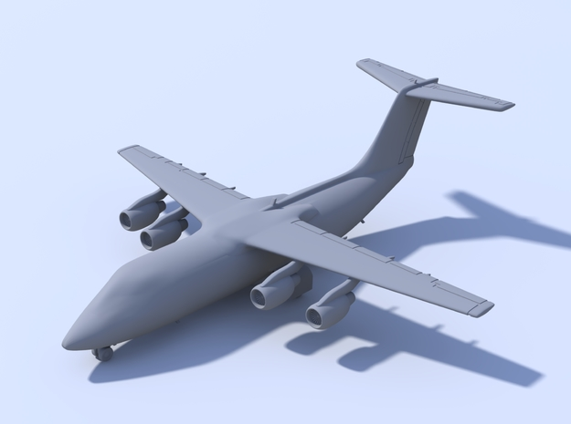 1:500 BAE 146-200 [x2][A] in Smooth Fine Detail Plastic