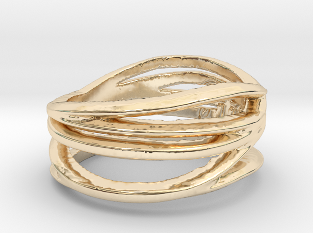 Simple Classy Ring Size 8 in 14K Gold