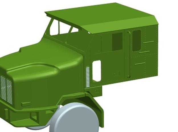 Oshkosh-cab--1to13 8  3d printed Oshkosh M1070F All green