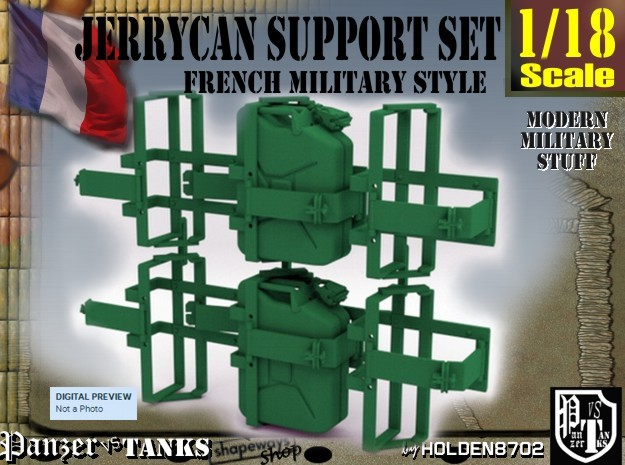1/18 Support Jerrycan