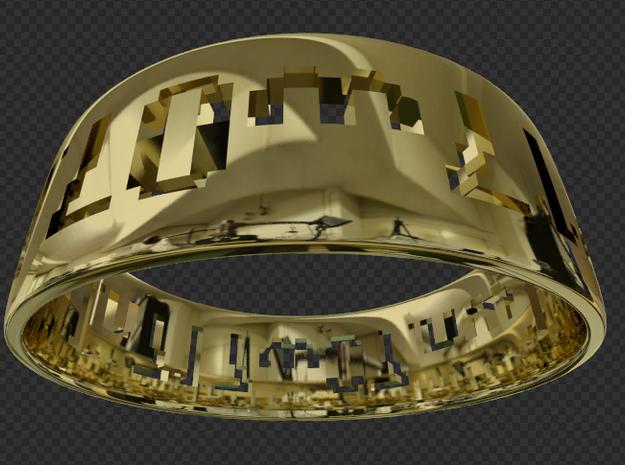 Ring.7w07n71nw1.1.9-18.10u 3d printed 7w07nw1n71