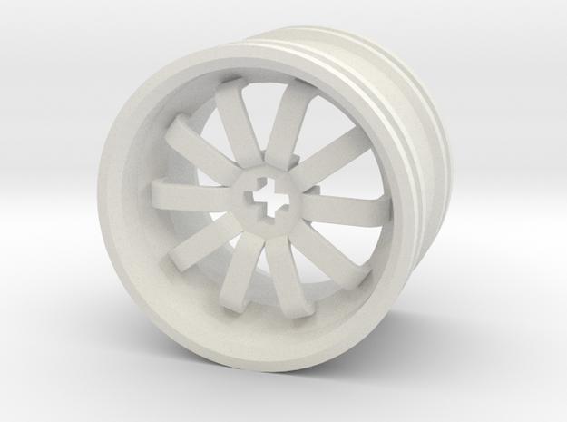 Wheel Design VII in White Strong & Flexible