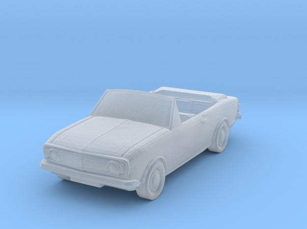 Crayford Ford Cortina 1600 GT Mk II (1:300 Scale) in Smooth Fine Detail Plastic
