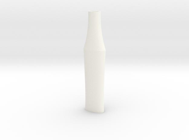HT Zurich Bastard Grip 150mm in White Strong & Flexible Polished