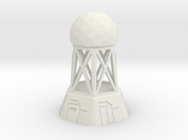 Radar Control Tower (Small Dome)
