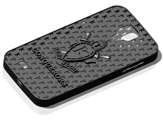 Galaxy S4 Kentwood High School in Black Natural Versatile Plastic