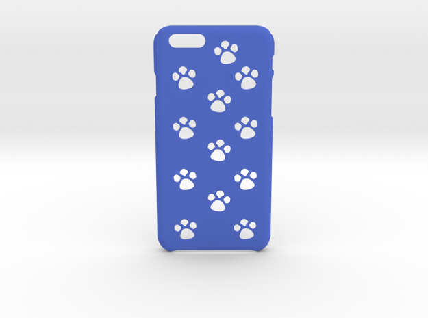 SPARKY iPhone 6 6s case in Blue Processed Versatile Plastic