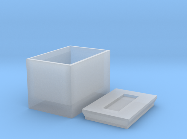 Box For Screws in Frosted Ultra Detail