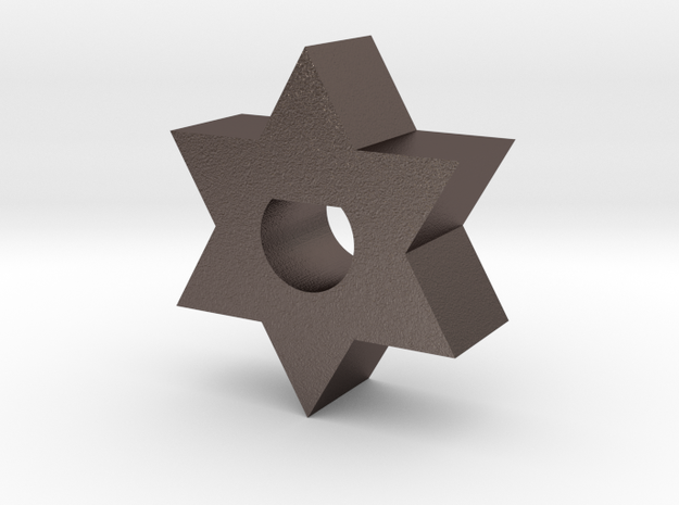 Ag1 Part D Insert in Polished Bronzed Silver Steel