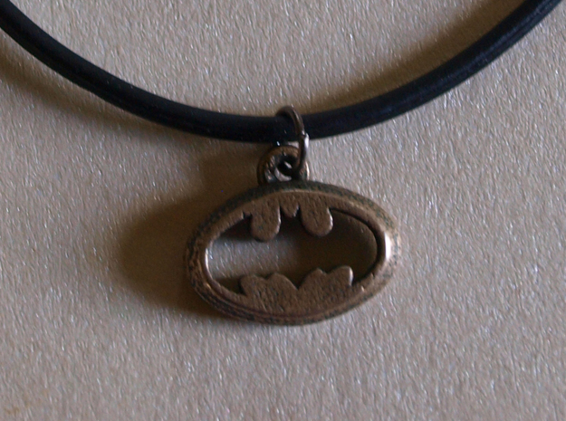 Batman Pendant in Stainless Steel