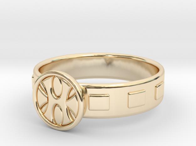 King Grayskull Ring in 14K Yellow Gold