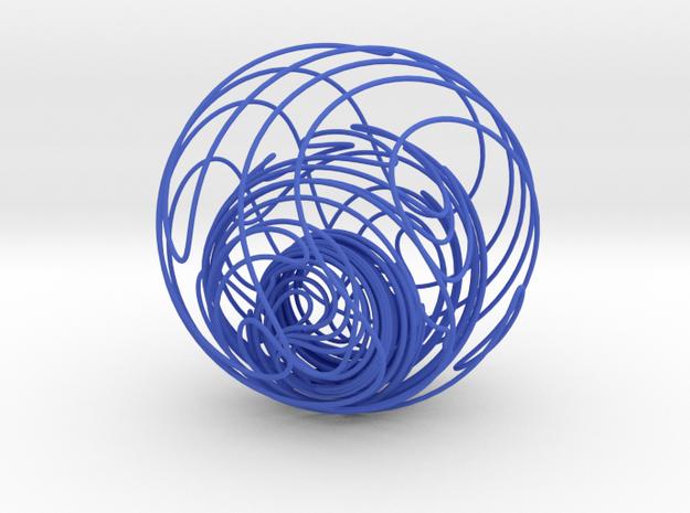 Art6 in Blue Processed Versatile Plastic