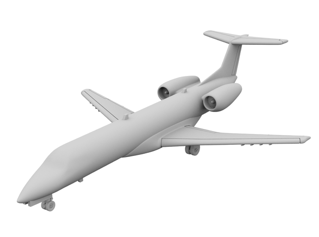 1:500_Dassault Mercure [x1][A] in Smooth Fine Detail Plastic