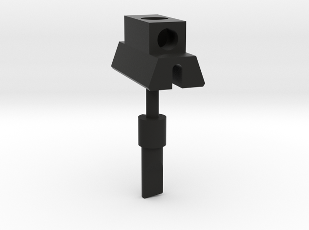 E-11 FrontSight With Pin in Black Natural Versatile Plastic