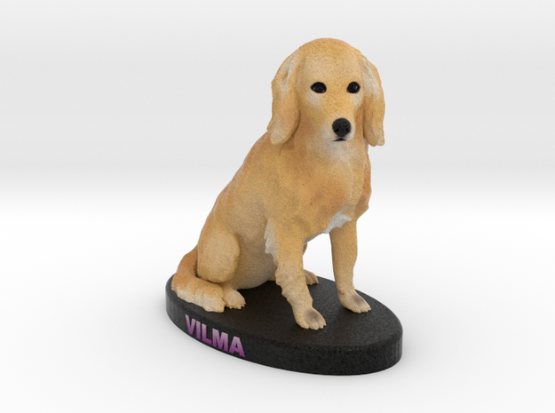 Custom Dog Figurine - Vilma