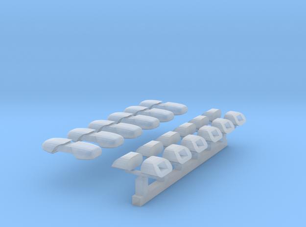 DBS 4000 - 6 Paar (Kurzversion für DLK) 1/87 in Smoothest Fine Detail Plastic