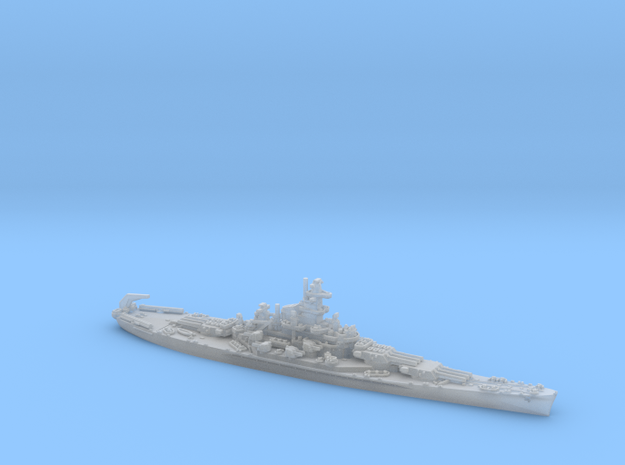 1/1800 US BB SouthDakota[1942] 3d printed