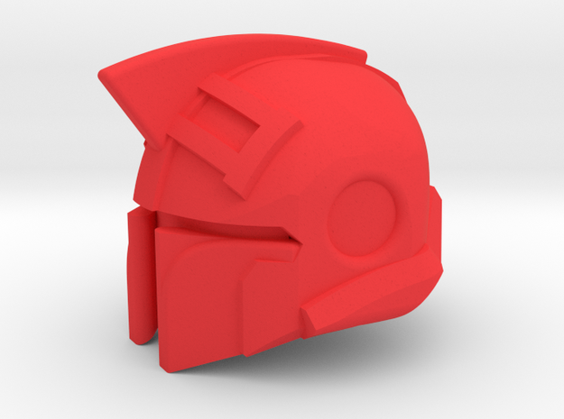 Iron Companion Hood in Red Processed Versatile Plastic