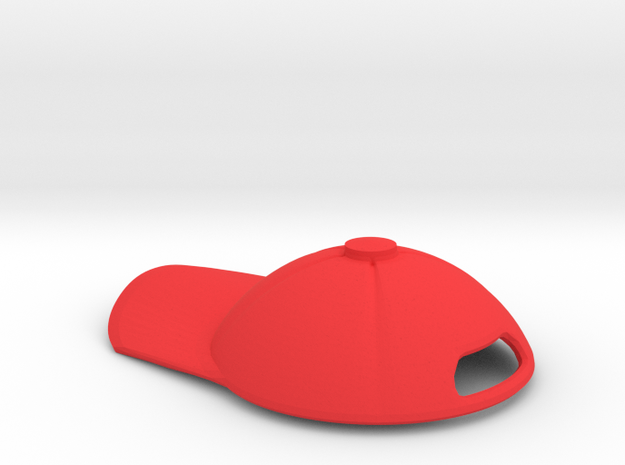 Nendroid Kirby Snapback Cap in Red Processed Versatile Plastic